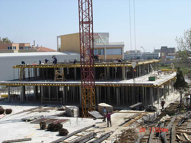 Изображения от: Construction stages - block A - april, 2007