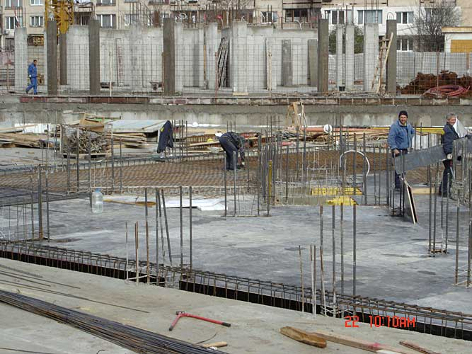 Изображения от: Construction stages - block A - february, 2007