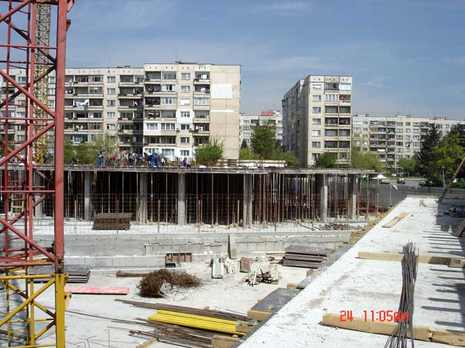 Изображения от: Construction stages - block A - march, 2007