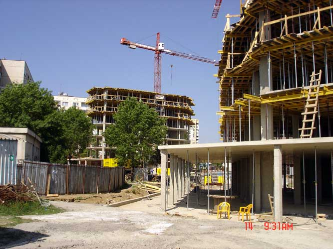 Изображения от: Construction stages - block A - may, 2007