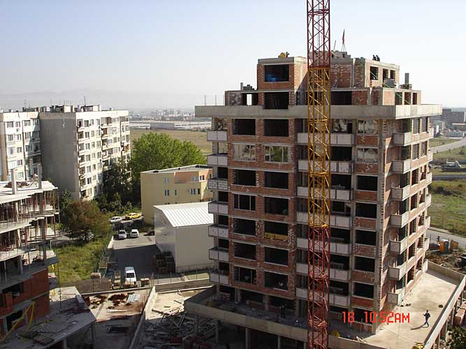 Изображения от: Construction stages - block A - september, 2007