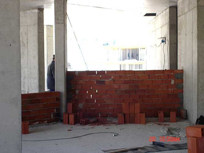 Изображения от: Construction stages - block B - april, 2007