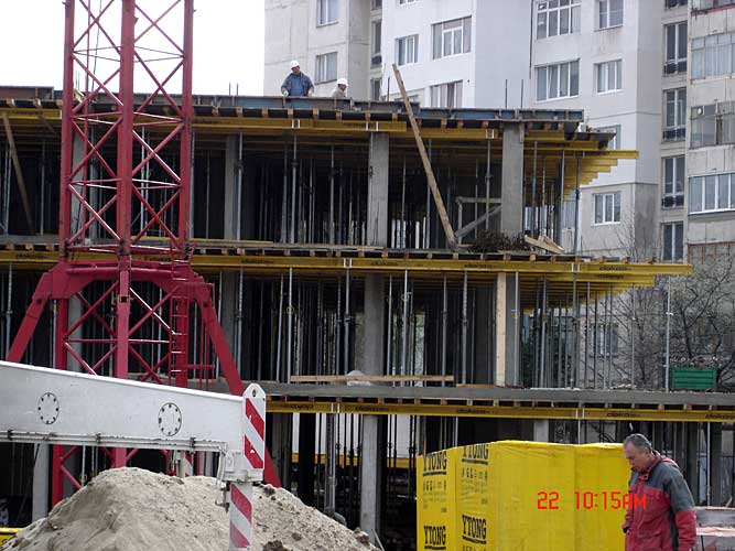 Изображения от: Construction stages - block B - march, 2007