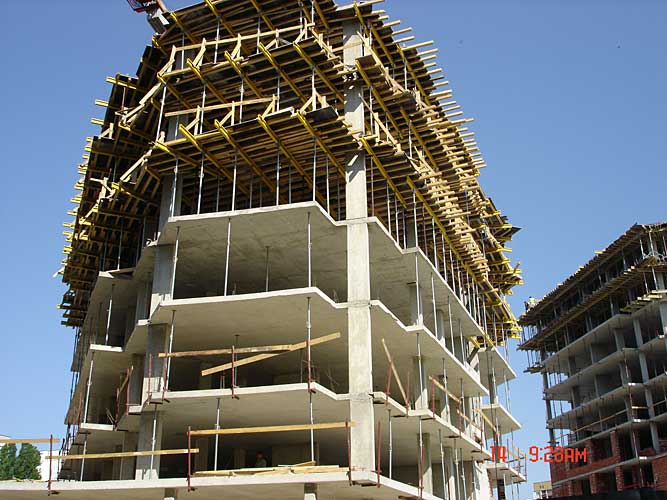 Изображения от: Construction stages - block B - may, 2007