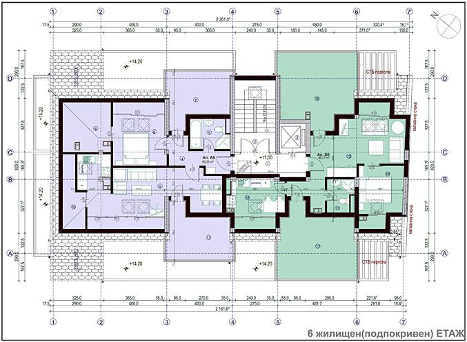 Проект Надежда - етаж 6